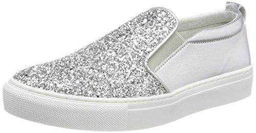 Tamaris Damen 24646 Slipper Silber (Silver Glam) 40 ()