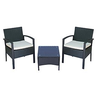Questo set di mobili da giardino in rattan è un bel complemento di arredo per la vostra casa. Oltre ad offrire un grande comfort, porterà anche un'elevata funzionalità. Include 2 sedie ergonomiche e un tavolino comodo. Con questo set d'arredo, potret...