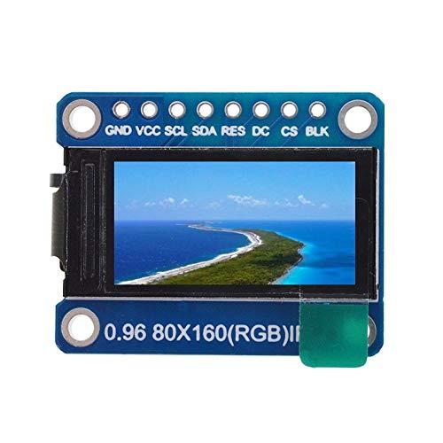 TOOGOO IPS 0.96 Zoll 8 Pin SPI Hd 65K Vollfarbe Tft Modul St7735 Laufwerk Ic 80 X 160 LCD Anzeige 3.3 V SPI Schnittstelle für Arduino DIY