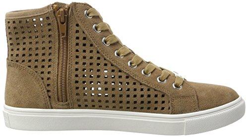 Steve Madden Porter Sneaker, Scarpe da Ginnastica Basse Donna Beige (Tan)