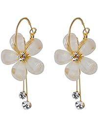 Chattons Gold Plated Fancy Party Wear Earrings For Girls & Women   Crystal Dangle & Drop Earrings For Girls &...
