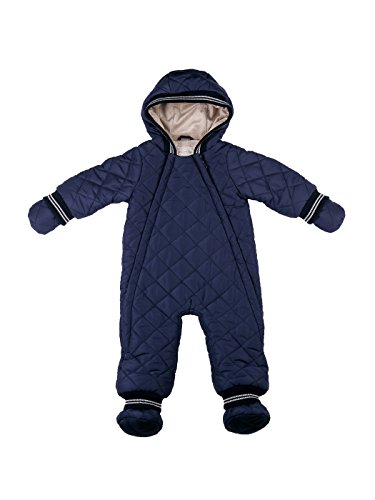 oceankids-blu-navy-tuta-monopezzo-imbottita-con-cappuccio-tute-da-neve-da-bambino-9-12-mesi