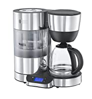 Russell Hobbs Purity Brita Filter Coffee Machine 20770, 1.25 L - Black/Silver