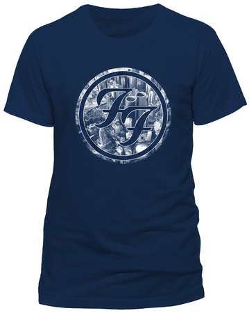 Foo fighters official city circle rock tee t-shirt top clothing mens ladies womens unisex