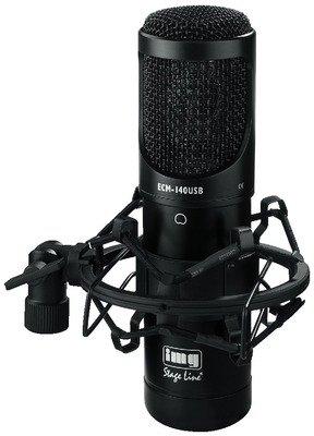 USB microfono a condensatore con diaframma di grandi dimensioni (ECM-140USB)