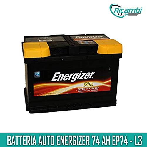 Batteria per Auto Energizer EP74-L3 74 Ah 680A Polo Positivo a Dx