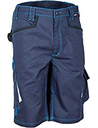 'Cofra v489–0de 02.z58Pantalones Cortos De Trabajo corrientes, color azul marino/azul claro, 58