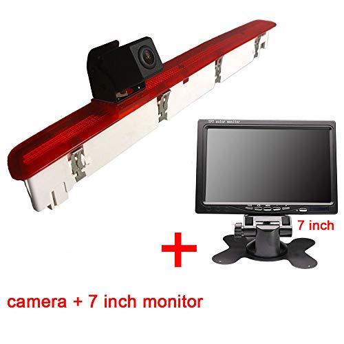 Auto Rückansicht mit Nachtsicht Wasserdicht Rückfahrsystem with Monitor (Model 2= Brake Light Camera+7