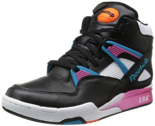 Reebok Pump Omni Zone Retro Schuhe Sneaker Basketballschuhe Schwarz V60498, Größenauswahl:42
