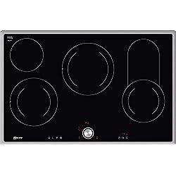 Neff t18bt16N0Plaque Électrique/Céramique/Verre/Céramique/79,50cm de cuisson vitrocéramique/Verre Céramique/Noir