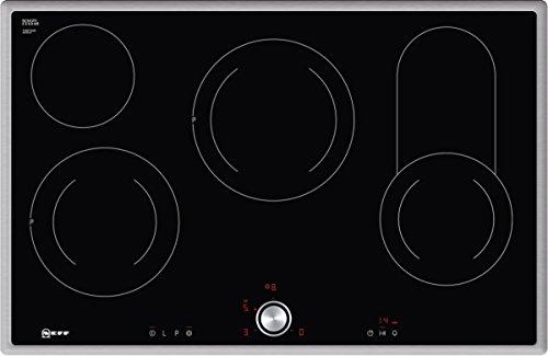 Neff t18bt16 N0 Plaque Électrique/Céramique/Verre/Céramique/79,50 cm de cuisson vitrocéramique/Verre Céramique/Noir
