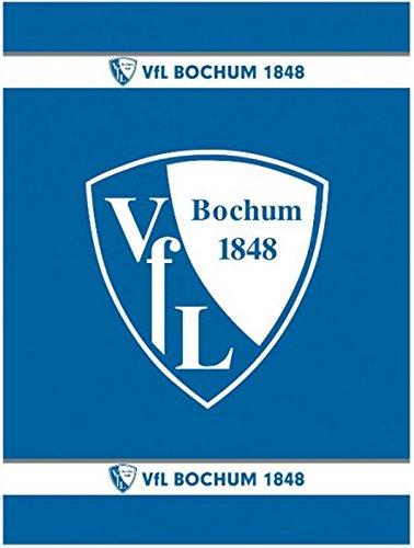 VfL Bochum Fleecedecke Logo