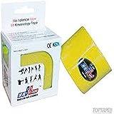 Venda Tape Neuromuscular 5 x 5 Amarillo-Unidad