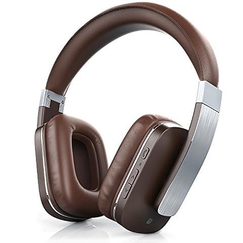 CSL - Bluetooth Kopfhörer 450 LE / wireless Headphone / Headset - Limited Edition (Alu gebürstet) | Bluetooth V4.0 | apt-X |