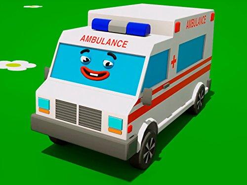 chen Formen mit lustiger Krankenwagen ()