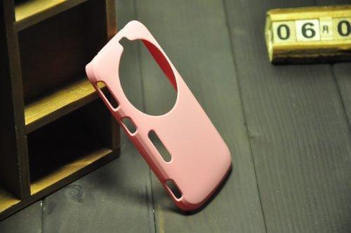 MoreGift4U Ultra Slim Thin harte PC Kunststoff-Schutz Fall-Abdeckung für Samsung Galaxy S5 Zoom Zoom K SM - C115 + Displayschutzfolie - Pink