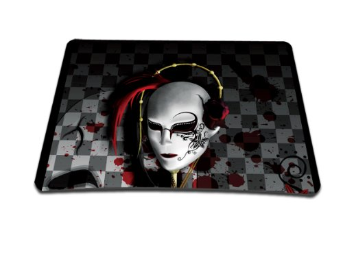 Luxburg® Design Mousepad Mausunterlage Mauspad, Motiv: Cyberkopf