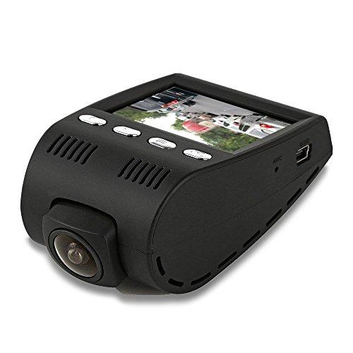 Auto Recorder DVR vorne und hinten View Dash Kamera Video 5,1cm Monitor Windshield Mount-Full Color HD 1080P Sicherheit Camcorder für Fahrzeug-Pip Night Vision Audio Record Micro SD Pyle pldvrcam30schwarz Hinten View Video-kamera