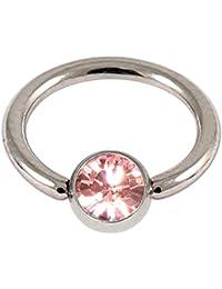 0bdb937441 Acero Quirúrgico BCR con buy rosa bola de la joya. 1