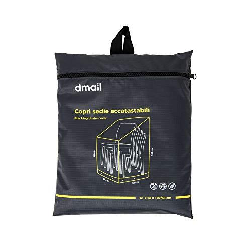 D-Mail Bâche de Protection pour chaises de Jardin
