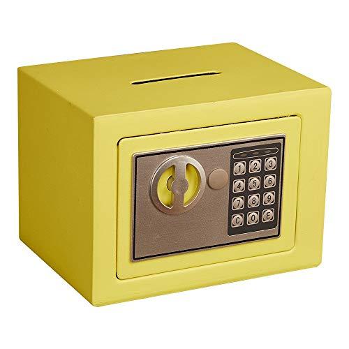 Caja fuerte Moneda de dinero en efectivo Mini caja electrónica de seguridad del Ministerio del Interior...