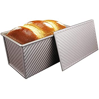 Reduced Bread Loaf Tin Pan Box Pullman 450g Sandwich