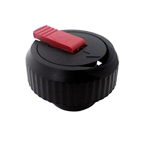 emsa ersatzdeckel Emsa 9618041600 Ersatz-Verschluss für Isolierflasche Senator 0,35-1,0 l, schwarz (2 Stück)