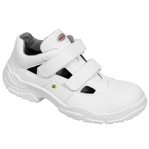 Elten 72015-47 White Easy Low Chaussures de sécurité ESD S1 Taille 47