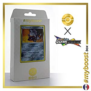 Heatran 88/156 Holo - #myboost X Soleil & Lune 5 Ultra-Prisme - Box de 10 Cartas Pokémon Francés