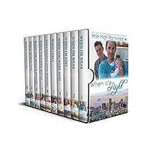 Mile High Romance - Full Series: M/M Contemporary Romance (English Edition)