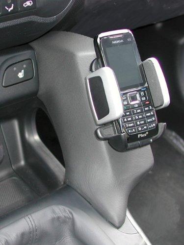 Kuda Telefonkonsole für Hyundai IX 35, Kunstleder, Schwarz Iso Mount (iso-radios