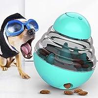 Bola de comida para perros, gatos para gatos alimentador lento bola de alimentación juguete para perros vaso dispensador de comida juguete interactivo bola de entrenamiento IQ juguete educativo
