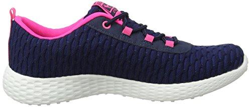 Gola Izzu, Scarpe Sportive Indoor Donna Blu (Navy/hot Pink)