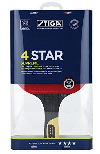 Stiga Tischtennisschläger Supreme 4 Star