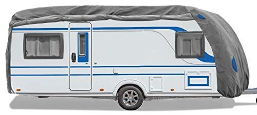 Bestcount Schutzhülle für Wohnwagen, Caravan Abdeckung in der Größe S (Länge x Breite x Höhe) 460x250x220 cm