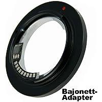 Semiautomatico Adattatore per obiettivo a baionetta (attivato la spia Autofocus nel mirino) Exakta su quattro terzi (4/3) fotocamere baionetta per Olympus E-400, Panasonic Lumix, Leica... (Powered by siocore)