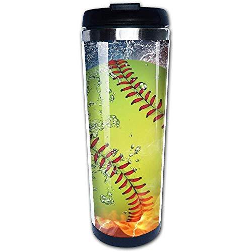 Like-like Baseball Reise Kaffeetasse Edelstahl Vakuumisolierte Becher Doppelwand Thermal