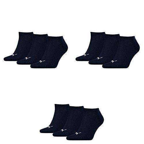 Despacho Últimas Colecciones Amazon Salida 9 pair Puma Sneaker Invisible Socks Unisex Mens & Ladies 321 - blu paSGp32ph