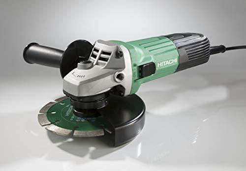 Hitachi G13STAYL - Amoladora angular 12000 RPM, Negro, Verde, M14, 88 dB, 7,9 m/s², Corriente alterna...