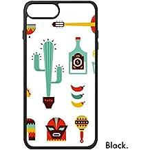 DIYthinker Sombrero del Cactus del Tequila Guitarra Chile México Cultura Elment para iPhone 7 más Las