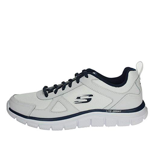 Skechers Track scloric 52631 bbk, Scarpe da Ginnastica Basse