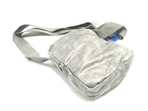 Borsa Borsello Uomo Donna Tracolla K-Way Bag Men Woman K.Fold Small Ammo K1521 Grigio