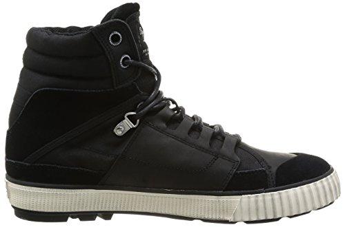 Pepe Jeans Factory Tech, Baskets mode homme Noir (999 Black)