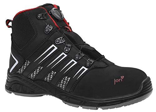 Safety shoes with Boa lacing system - Safety Shoes Today
