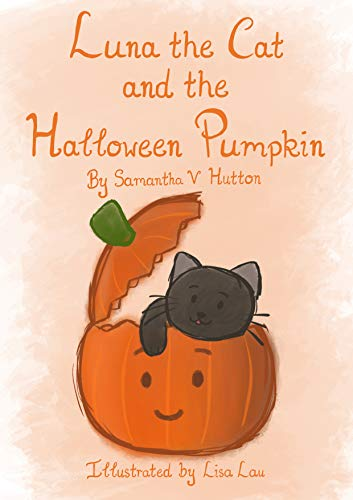 Luna the Cat and the Halloween Pumpkin (English Edition)