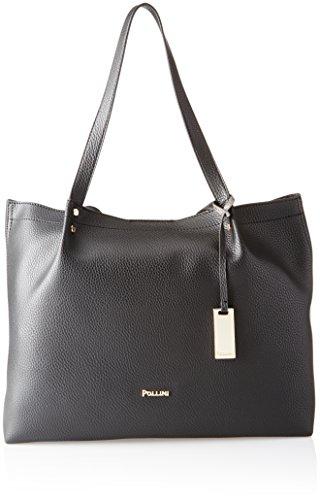 Pollini Bag femme Sacs portés épaule Noir (Nero) 38x14x29 cm (B x H x T)