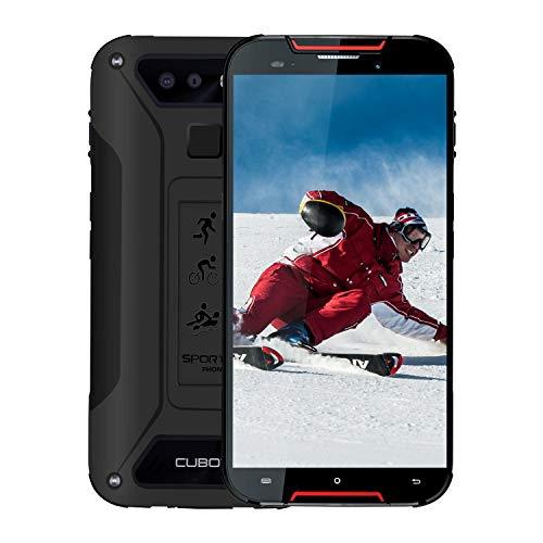 "CUBOT Quest Lite Outdoor-Handy 4G 2019, 3 GB + 32 GB Android 9.0 Smartphone 5\""Zoll IP68 Wasserdicht Stoßfest Kamera 13MP 3000 mAh Akku Dual-Nano-SIM Ohne Vertrag Robustes Smartphone"