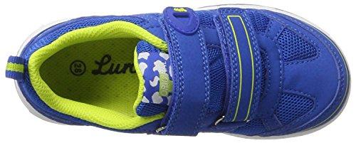 Lurchi - Lasse-sympatex, Pantofole Bambino blu (cobalto)