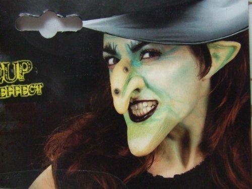 Widmann 4141W - Hexenschminkset in Theaterqualität aus Latex (Hexe Make Up Ideen)