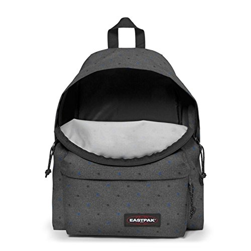 Eastpak Padded Pakr Polyamide,Polyester Blue,Brown,Grey,Red backpack - Backpacks (Polyamide, Polyester, Blue, Brown, Grey, Red, Monotone, 35.6 cm (14), Front pocket, Zipper) Multicolore